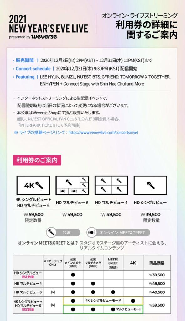 Big Hit Labelsのコンサート「2021 NEW YEAR'S EVE LIVE」のライブストリーミングが決定!!視聴方法・内容 | BTS 防弾少年団 【情報サイト】